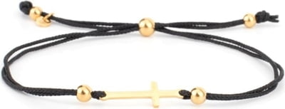 COWstyle Armband Messina, gold - Schwarz-gold