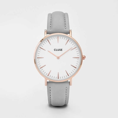 Cluse La Bohème Rose Gold White/Grey - 1 Stk