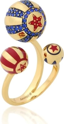 Disney Dumbo Ring - Zirkus Ball, Gelbgold