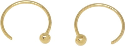"fejn jewelry Ohrringe ""open hoop"" - gold - 1 Stk"