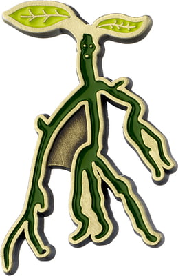 "Fantastic Beasts Pin Anstecker ""Bowtruckle"" - 1 Stk"