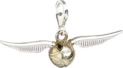 "Harry Potter Clip-On Charm ""Golden Snitch"" - Sterling Silber - 1 Stk"