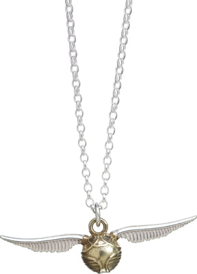 "Harry Potter  Halskette ""Golden Snitch"" - Sterling Silber - 1 Stk"