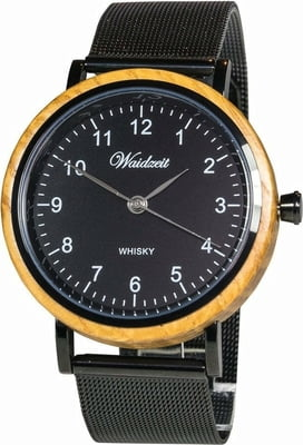 "Waidzeit Herrenuhr ""Whisky Black"" - 1 Stk"