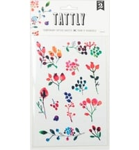 "TATTLY Temporäre Tattoos ""Wild Berries"""