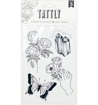 "TATTLY Temporäre Tattoos ""Earthly Gems"""
