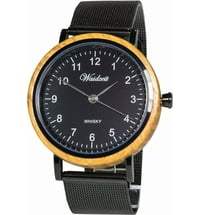 "Waidzeit Herrenuhr ""Whisky Black"""