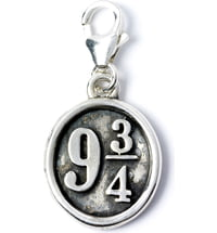 "Harry Potter Clip-On Charm ""Platform 9 3/4"" - Sterling Silber"