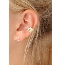 "Wild Fawn Ear Cuff ""Hammered"""