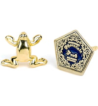 """Harry Potter Ohrstecker """"Chocolate Frog Gold Plated"""""""