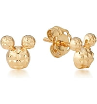 Disney Micky Maus Ohrstecker - Gold